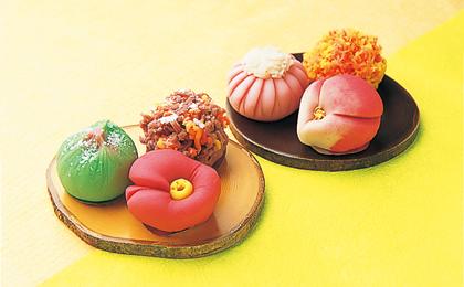 和菓子作り|石川県観光物産館