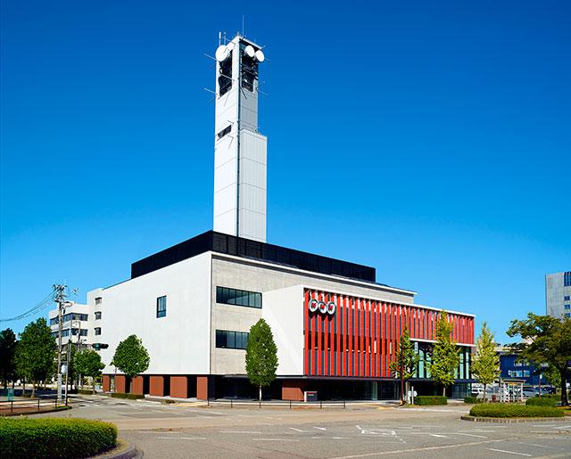 NHK金沢放送局 新放送会館