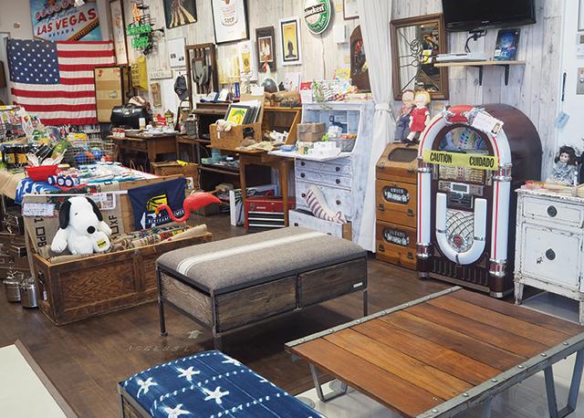 アメリカンヴィンテージ家具・雑貨ショップACCESS L.A. DEPO