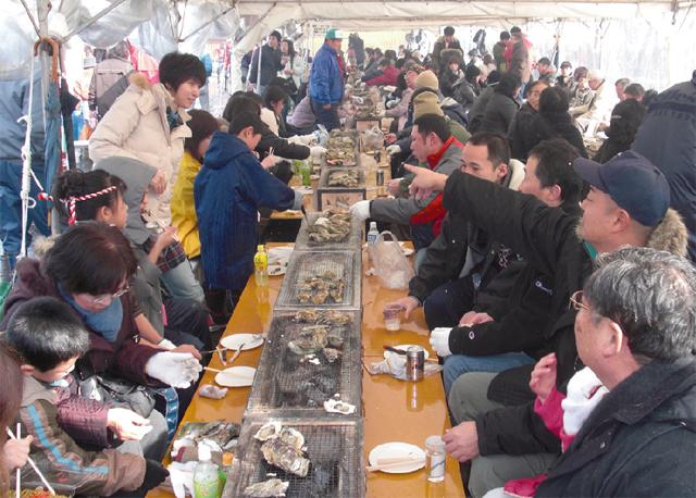七尾湾 能登かき祭 2020 特別イベント