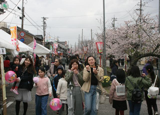 かほく四季まつり ~桜まつり~