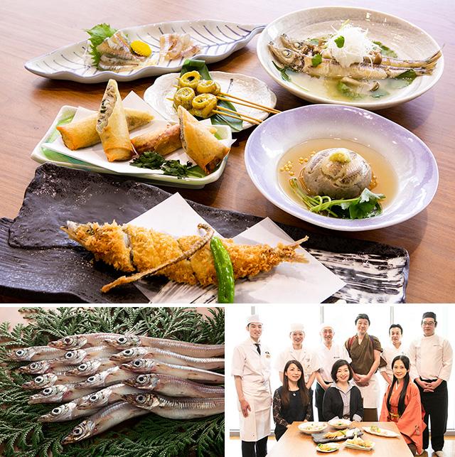 金沢おいしい海の幸フェア・メギス料理人6人衆
