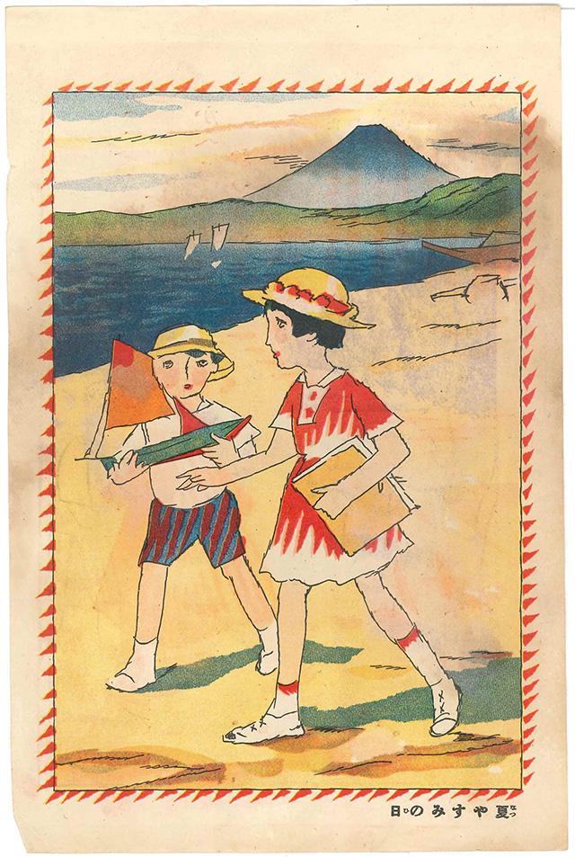 金沢湯涌夢二館企画展 夢二の「子ども絵」Ⅳ―「竹久家コレクション」を中心に―