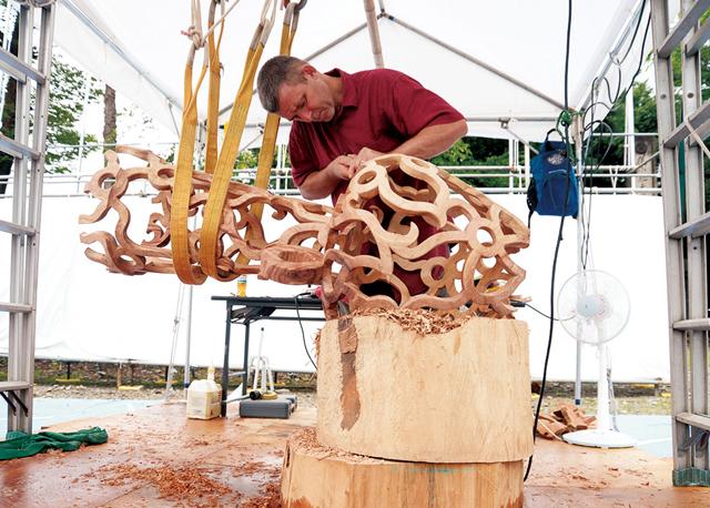 南砺市いなみ国際木彫刻キャンプ 2019