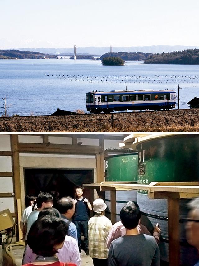 サケマルシェ 地酒列車&酒蔵見学ツアー