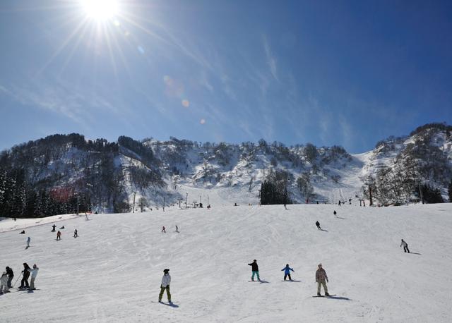 白山一里野温泉スキー場 2019-20 シーズンオープン