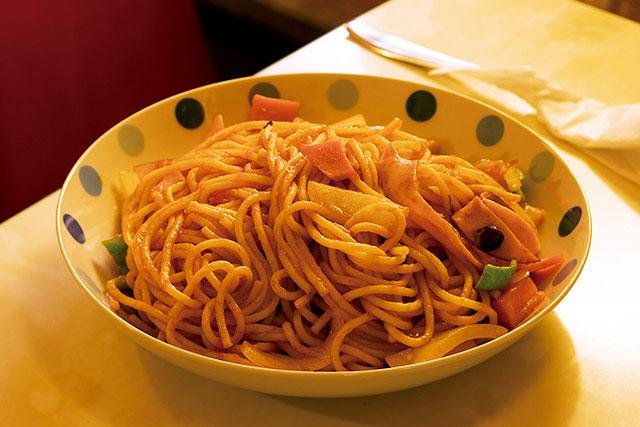 パーラーアコ「イタリアンスパゲッティ」