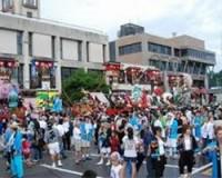 明日、『松波人形キリコ祭り』が能登町松波地区で開催。