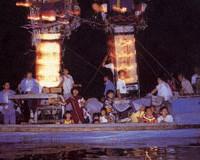 明日、恋物語を秘めた『塩津かがり火恋祭り』が七尾市中島町で。