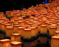 明日、福井の夏のフィナーレを飾る『永平寺大燈籠ながし』が開催。