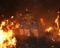 本日より、『たいまつ祭り』が富山県黒部市で開催。