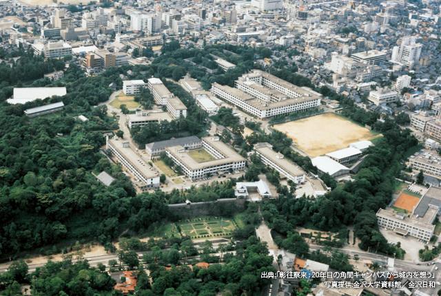 金沢大学 丸の内キャンパス(~1995年)