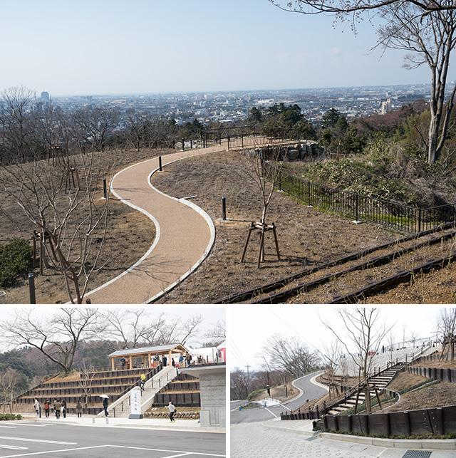卯辰山公園 「眺望の丘」