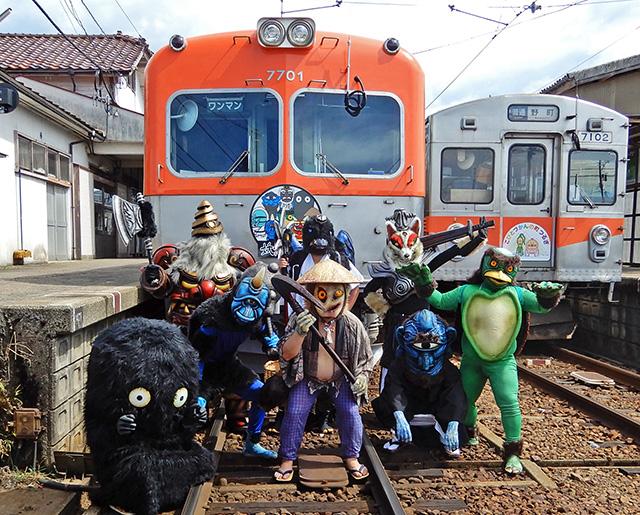 妖怪電車2019 仮装で楽しもう