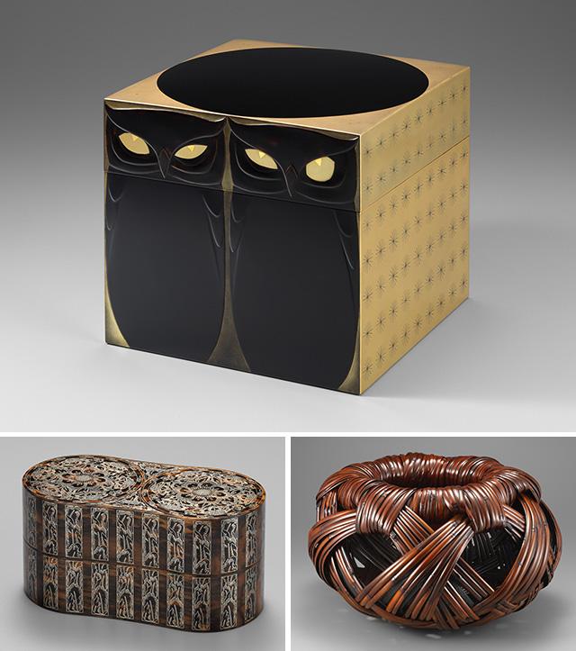 東京国立近代美術館工芸館名品展 漆・木・竹工芸のみかた