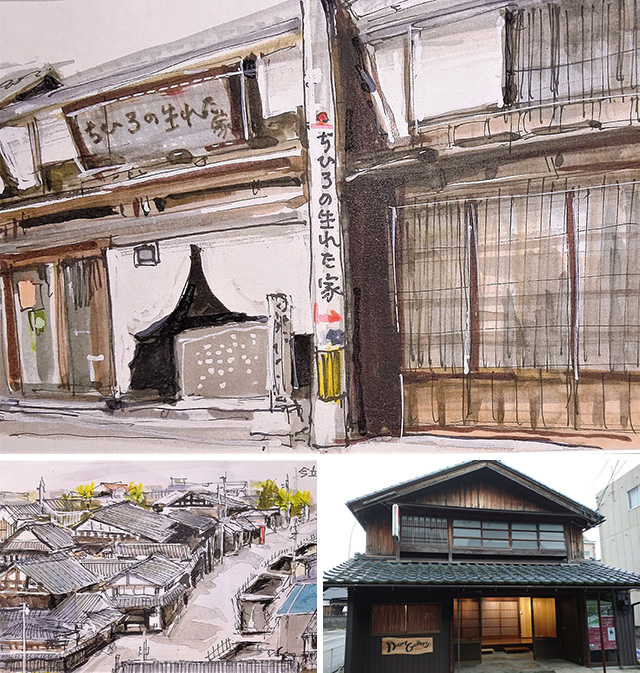 上野谷憲示 風景画展