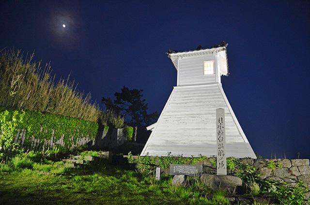 旧福浦灯台 ライトアップ