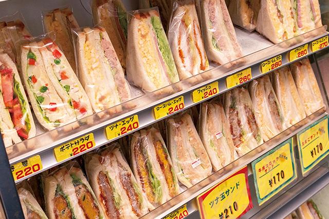 ニュージョイスかもの「サンドイッチ」
