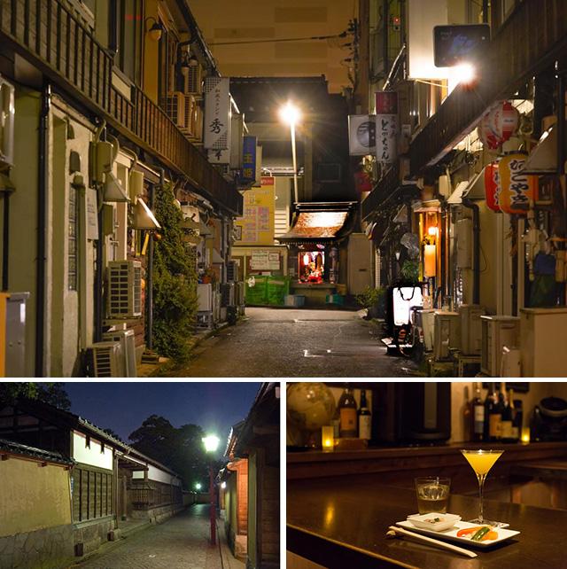冬の金沢特別まち歩きツアー かなざわ盛り場と夜景散策