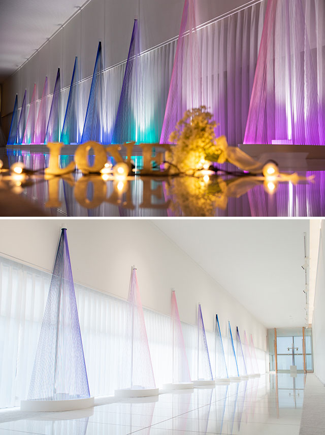 金沢美術工芸大学 デザイン学科×KKRホテル金沢 共同アートプロジェクト 「snow hologram ~新旧が混在した金沢の景観~」