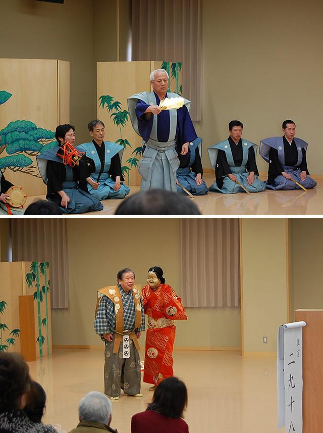 お正月特別開館イベント 御松囃子-加賀藩の謡初と狂言-