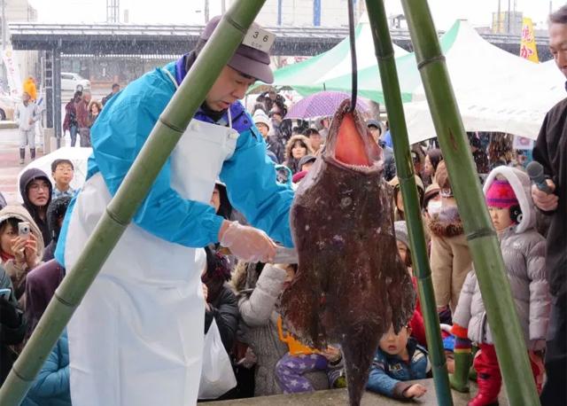 能登ふるさと博 珠洲あんこう祭り