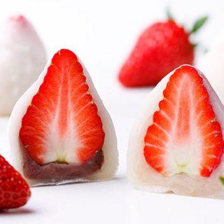 春を伝える「特製いちご大福」発売開始
