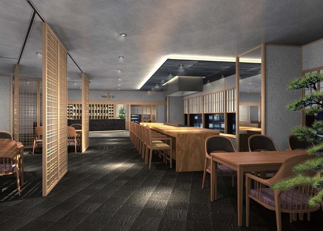 ホテル日航金沢6階日本料理 弁慶