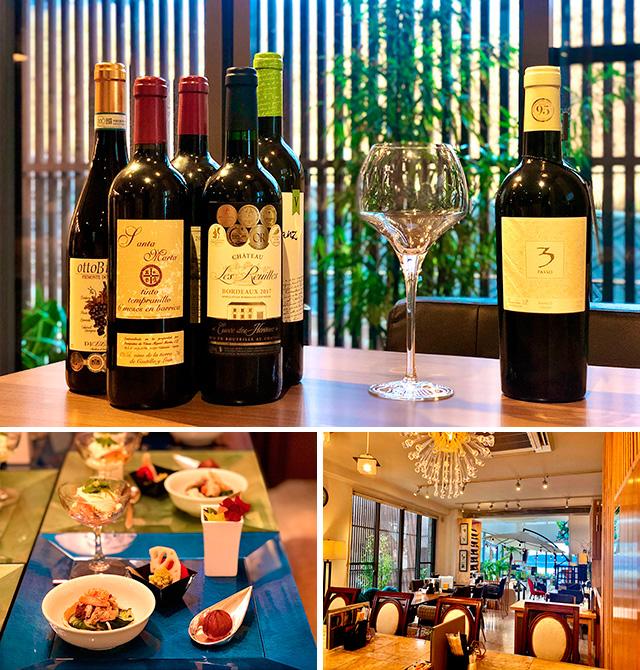 『カフェレストラン 永』の運試しワイン