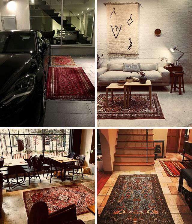 絨毯セレクション ~世界にただ一つの手織りペルシャ~