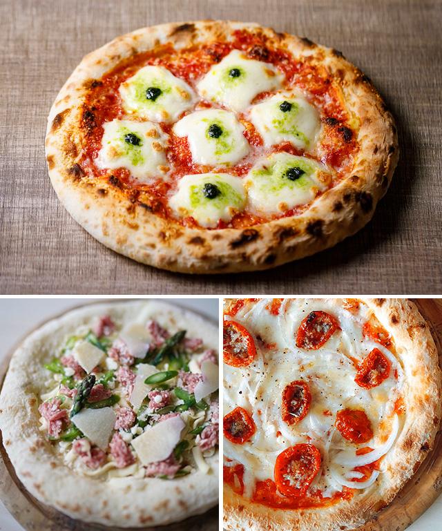 『森山ナポリ』3月の月替りピザ