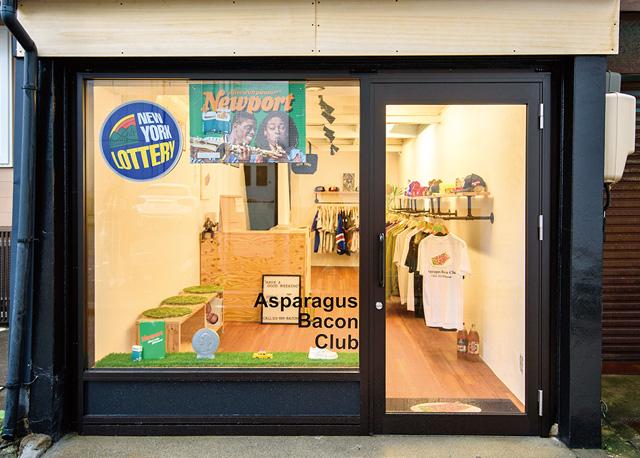 Asparagus Bacon Club