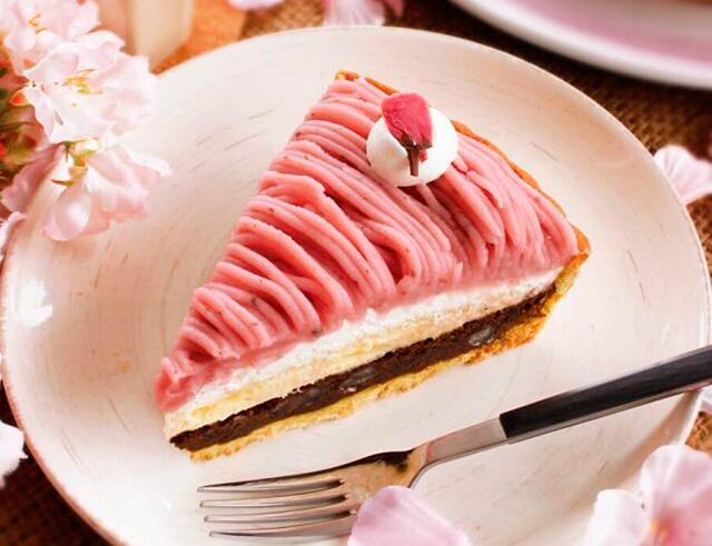 『デュ・ボンタン』桜のモンブランタルト