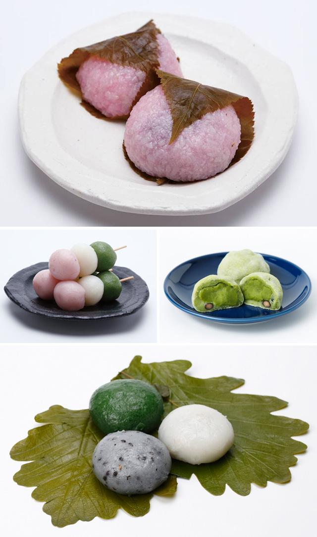 『むっつぼし』の春の和菓子