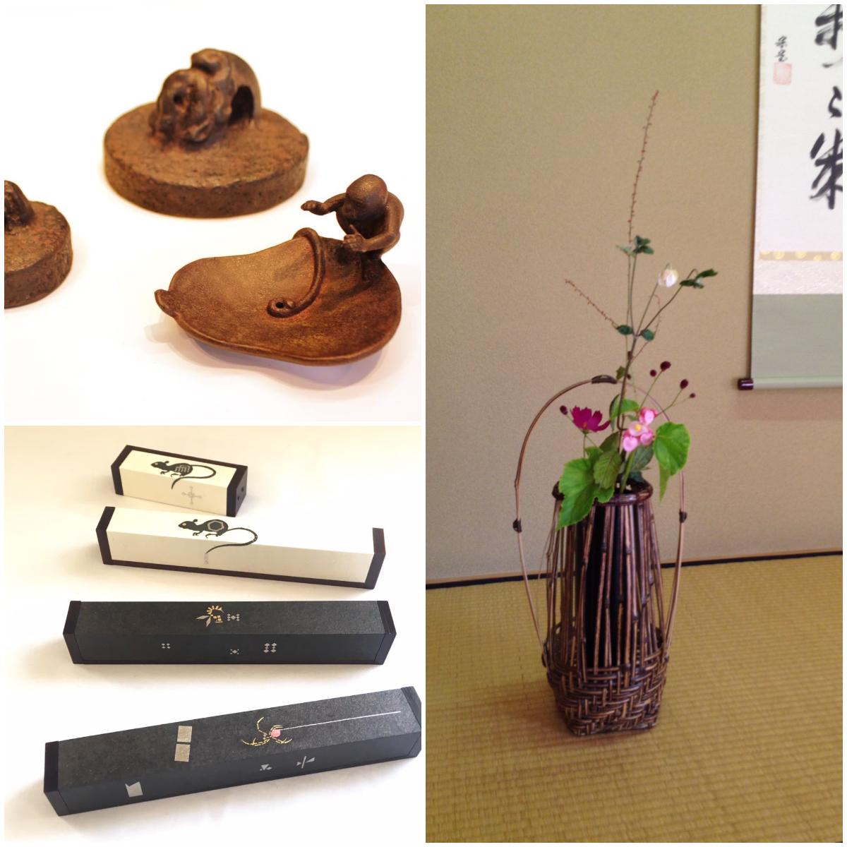 金沢の工芸三人展