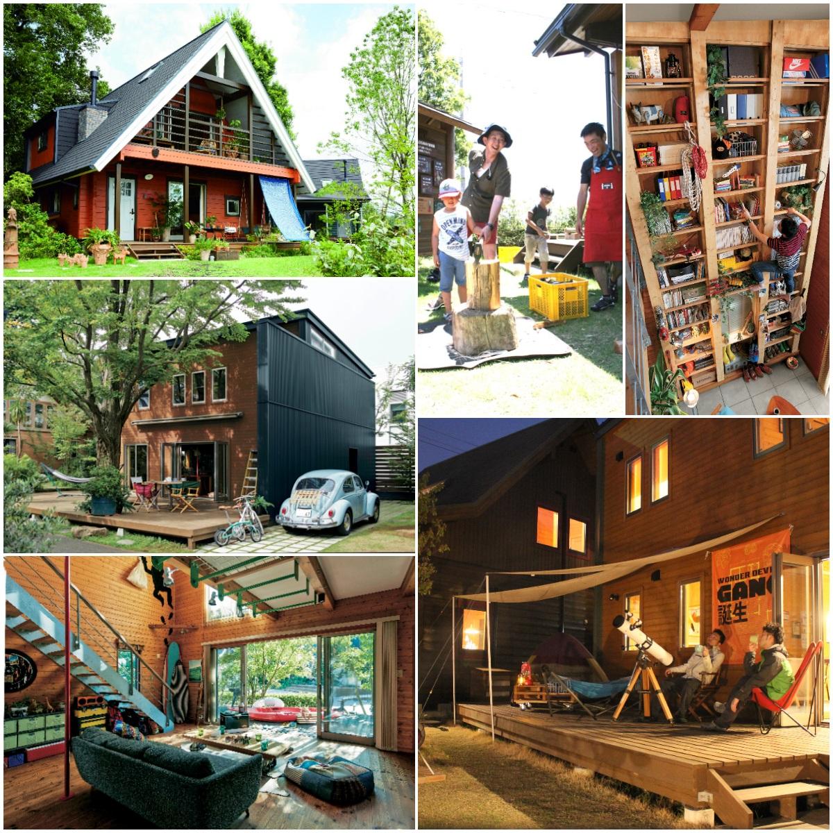 LOGWAY BESS金沢 北陸唯一のBESSで暮らし体験!家族で1棟貸し切って、薪割りやDIYを楽しもう。