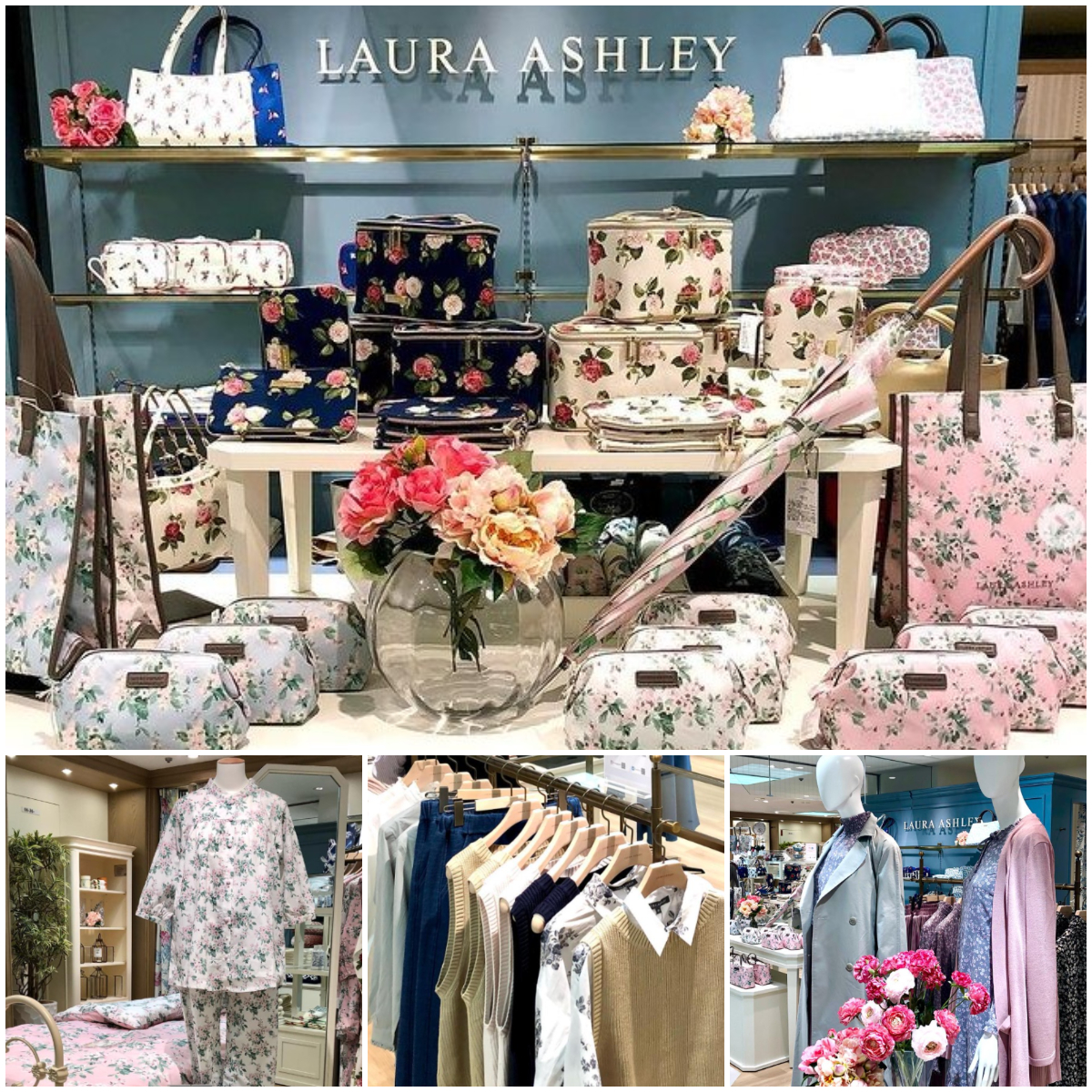 『LAURA ASHLEY』オープン