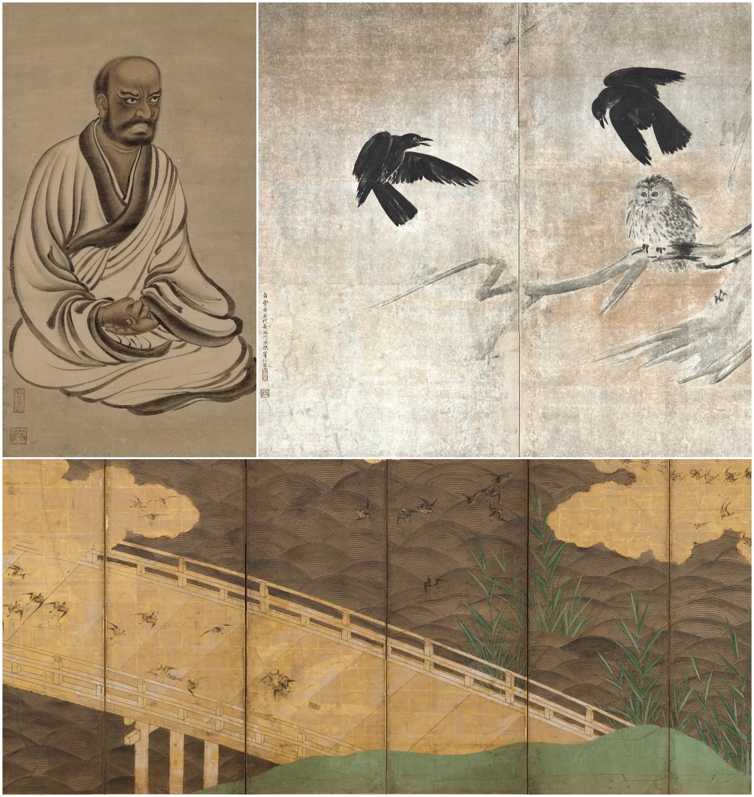 石川県七尾美術館で「長谷川等伯展」が開催
