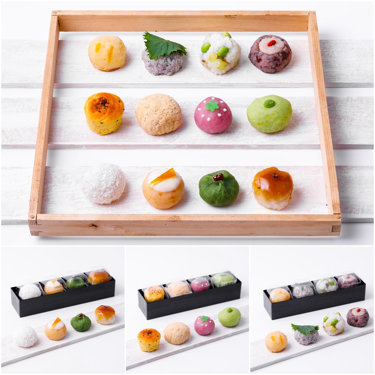 『農菓プロジェクト』の県産農産物を使用した夏のおはぎ「加賀・能登・金澤 夜舟」予約受付中。