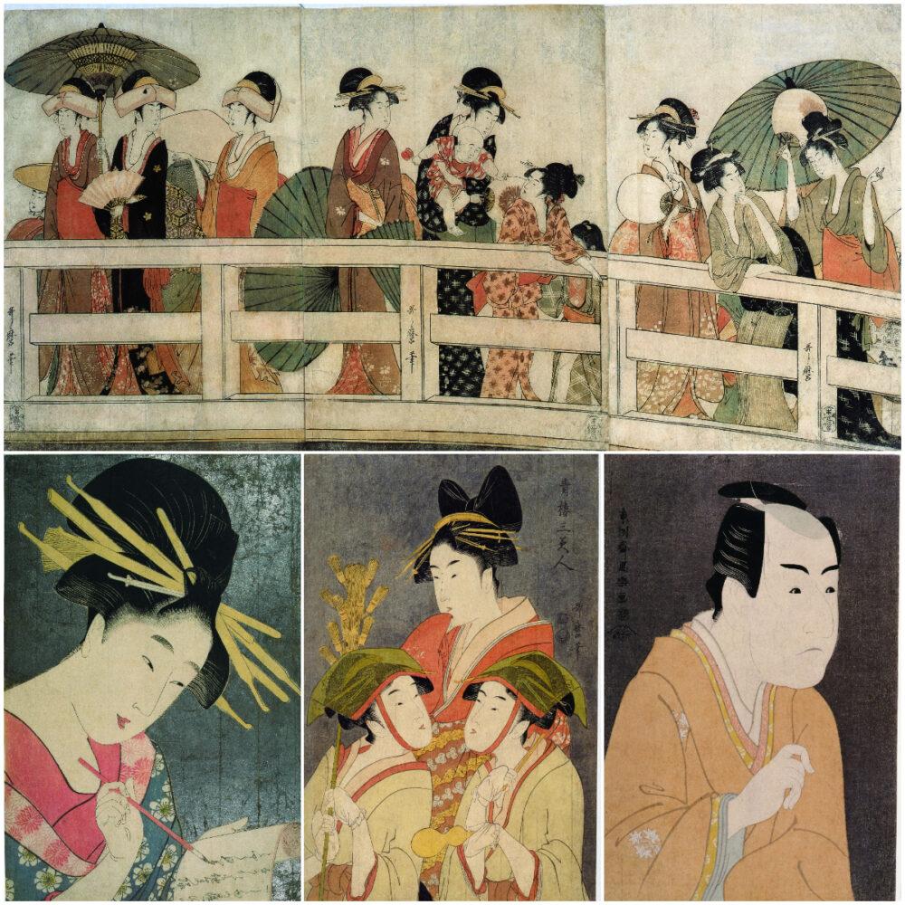黄金期の浮世絵 【臨時休館中】歌麿とその時代展-美人画と役者絵