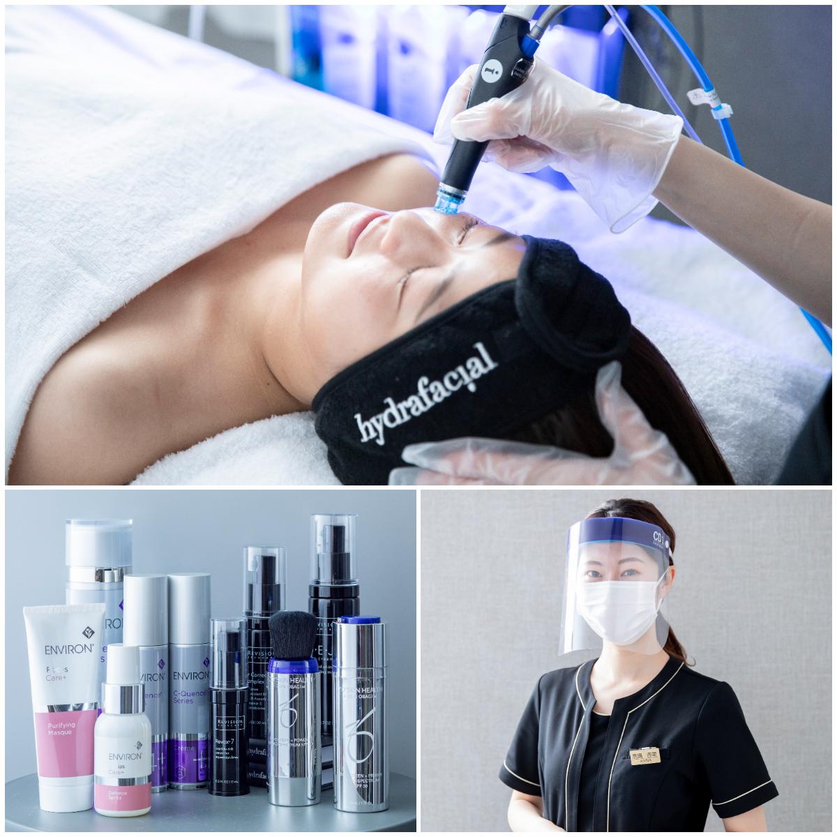岡本病院監修 メディカルエステサロン 7月、8月メディカルエステサロンの本格的な毛穴ケアキャンペーン開催中。